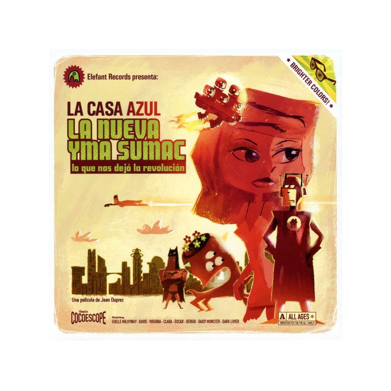 LA CASA AZUL – La Nueva Yma Sumac (Lo Que Nos Dejó La Revolución) CD