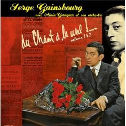 SERGE GAINSBOURG - Du Chant A La Une! Volume 1 & 2 LP