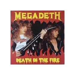MEGADETH - Death In The Fire LP