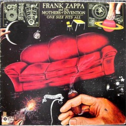 FRANK ZAPPA & MOTHERS OF INVENTION - One Size Fits All LP