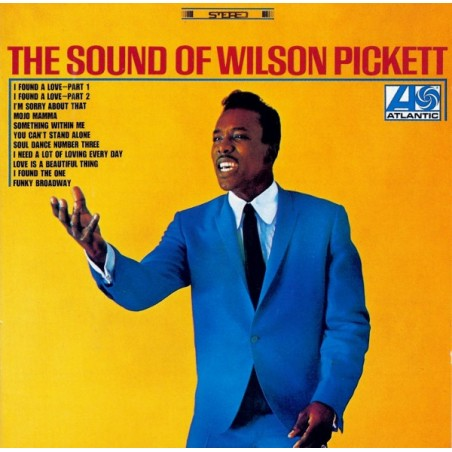 WILSON PICKETT - The Sound Of CD