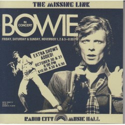 DAVID BOWIE - The Missing Link CD