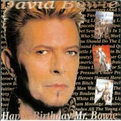 DAVID BOWIE - Happy Birthday Mr. Bowie CD