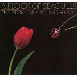 A FLOCK OF SEAGULLS - The Story Of A Young Heart LP