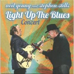 NEIL YOUNG & STEPHEN STILLS - Light Up The Blues Concert CD