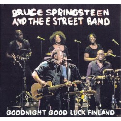 BRUCE SPRINGSTEEN & THE E ST. BAND - Goodnight Good Luck Finland  CD
