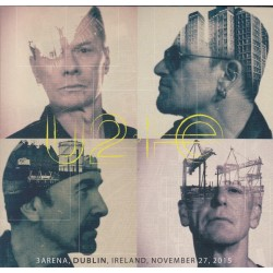 U2 - 3Arena, Dublin, Ireland, November 27, 2015 CD