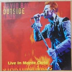 DAVID BOWIE - Starting Fires Live In Monte Carlo CD