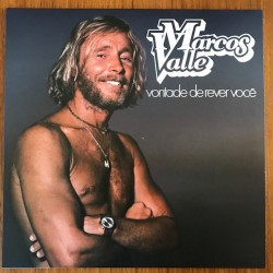 MARCOS VALLE -  Vontade De Rever Você LP