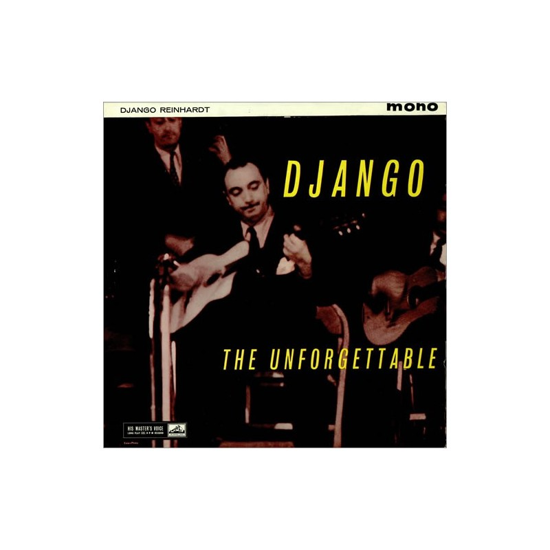 DJANGO REINHARDT – The Unforgettable LP
