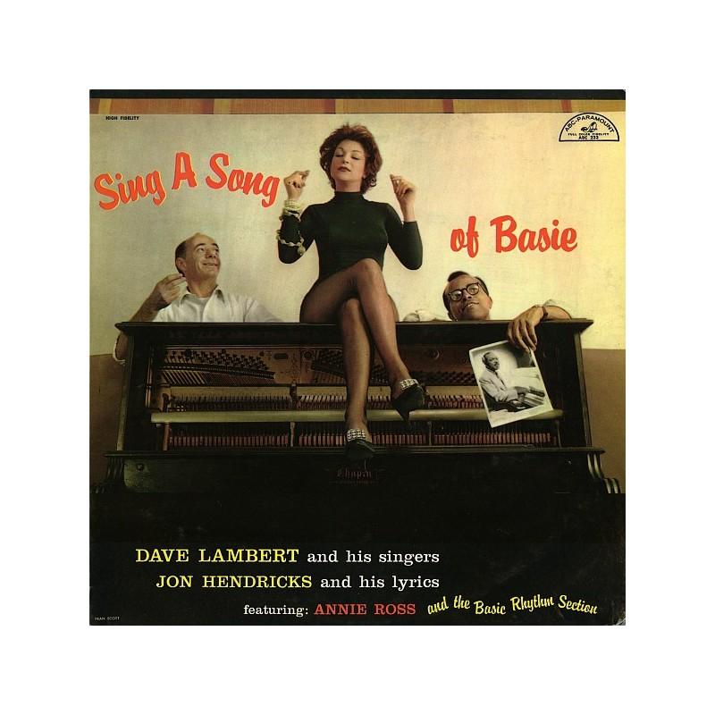 LAMBERT, DAVE & HIS SINGERS - Sing A Song Of Basie LP