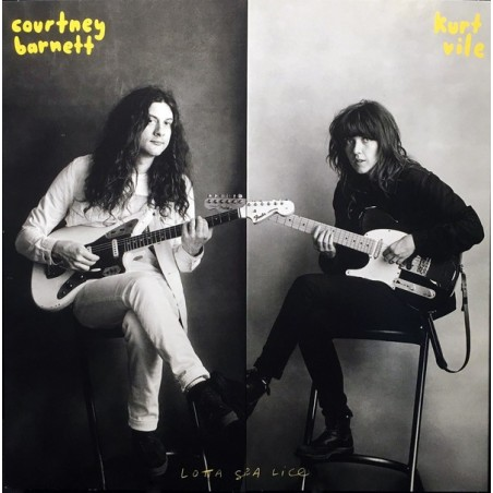 COURTNEY BARNETT & KURT VILE - Lotta Sea Lice LP