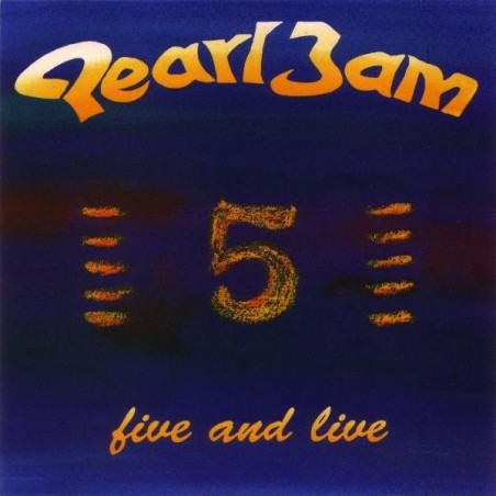 PEARL JAM - Five And Live CD