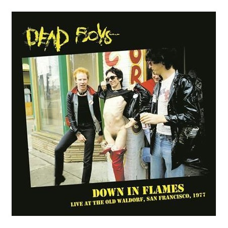 DEAD BOYS - Down In Flames (Live At The Old Waldorf, San Francisco, 1977) LP
