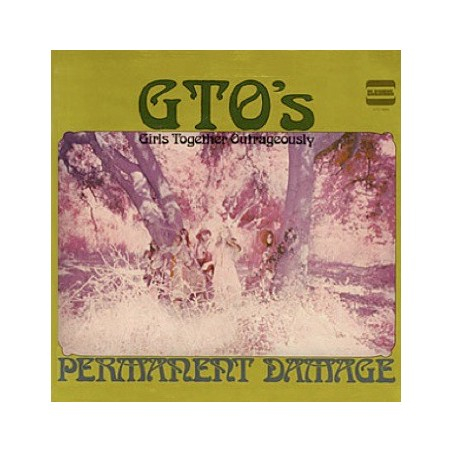 GTO'S - Permanent Damage LP