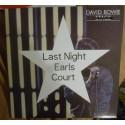 DAVID BOWIE - Last Night Earls Court  LP