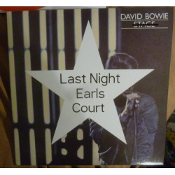 DAVID BOWIE - Last Night Earls Court  LP