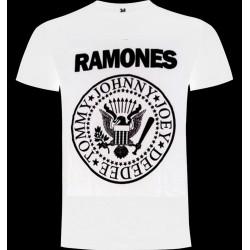Camiseta Ramones Blanca
