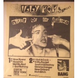 IGGY POP & THE STOOGES - Night Of The Iguana LP