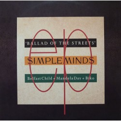 SIMPLE MINDS - Ballad Of The Streets 12""