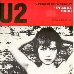 U2 – Sunday Bloody Sunday 12""