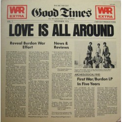ERIC BURDON & WAR - Love Is All Around LP