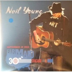 NEIL YOUNG - Farm Aid 2015 LP+DVD
