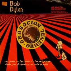 BOB DYLAN - Documento Inedito Grabado En Directo LP