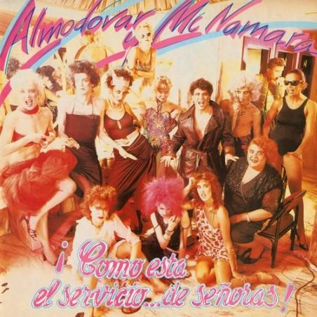 ALMODOVAR & McNAMARA - ¡Cómo Está El Servicio... De Señoras! LP+CD+DVD