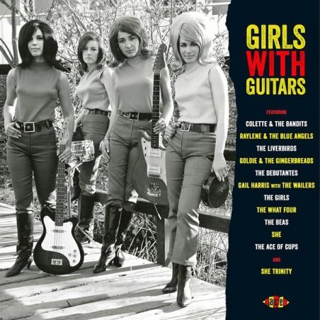 VARIOS - Girls With Guitars LP