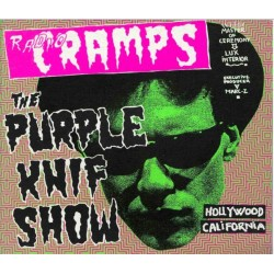 VARIOS - Radio Cramps : The Purple Knif Show LP