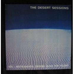 VARIOS - The Desert Sessions – Vol 1. Instrumental Driving Music For Felons/ Vol II. Status: Ships Commander Butchered LP