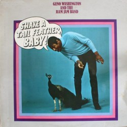 GENO WASHINGTON & THE RAM JAM BAND - Shake A Tail Feather LP