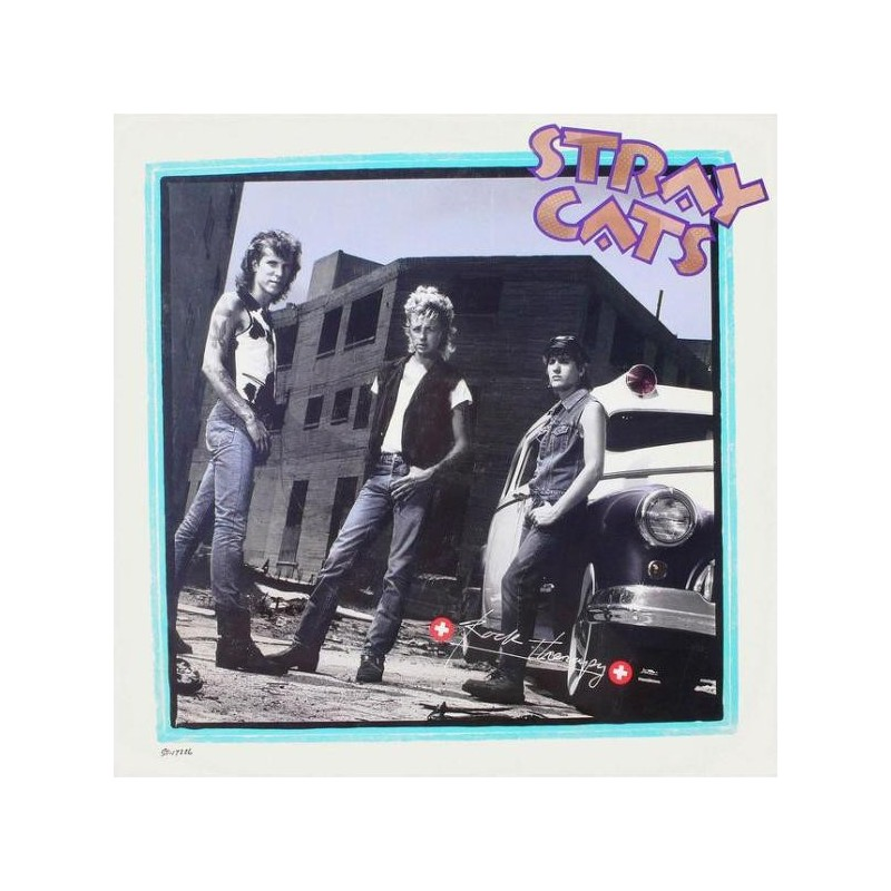 STRAY CATS - Rock Therapy LP
