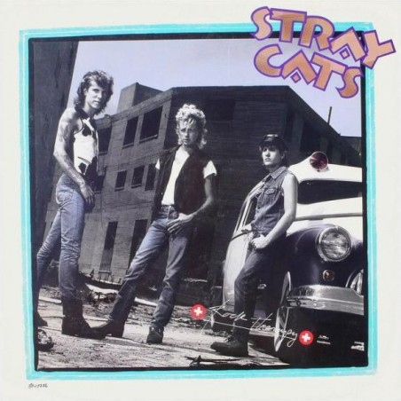 STRAY CATS - Rock Therapy LP (Original)