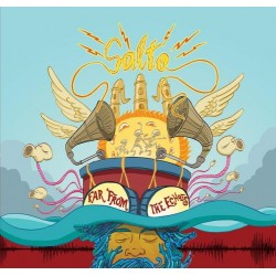 SALTO - Far From The Echoes LP