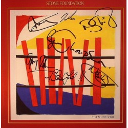 STONE FOUNDATION - To Find The Spirit  LP+CD