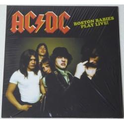 AC/DC - BOSTON BABIES PLAY LIVE 1978 LP