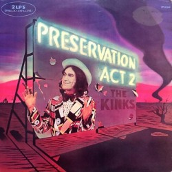 THE KINKS - Preservation Act 2 LP