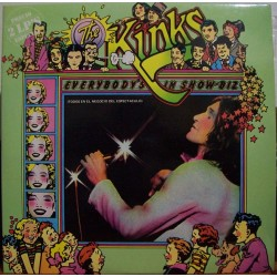 THE KINKS - Everybody's In Show-Biz - Everybody's A Star LP