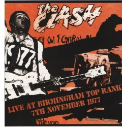 THE CLASH - Live At The Birmingham Top Rank 7th November 1977 LP