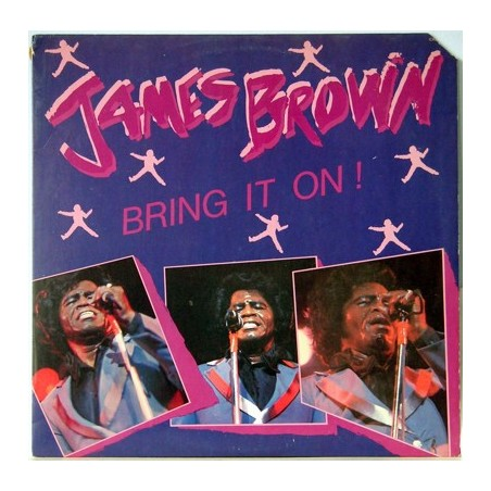 JAMES BROWN - Bring It On LP (Original)