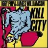 "IGGY POP & JAMES WILLIAMSON - Kill City LP 10"""