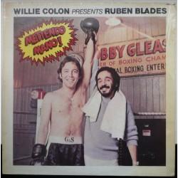 WILLIE COLON PRESENTS RUBEN BLADES - Metiendo Mano LP