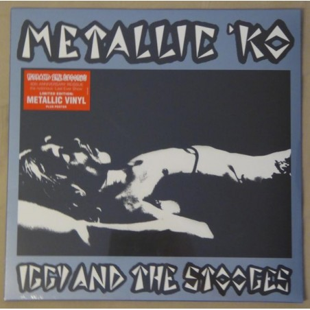 IGGY & THE STOOGES - Metallic 'KO 40Th Anniversary LP