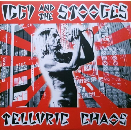 IGGY & THE STOOGES - Telluric Chaos - Stooges Reunion LP