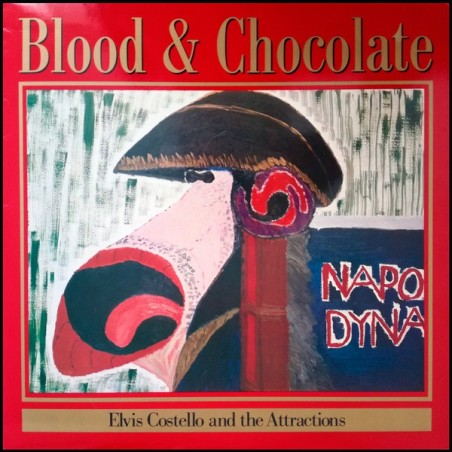 ELVIS COSTELLO & THE ATTRACTIONS - Blood And Chocolate LP (Original)