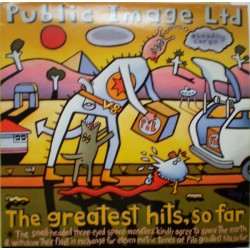 PUBLIC IMAGE LTD. - The Greatest Hits, So Far LP