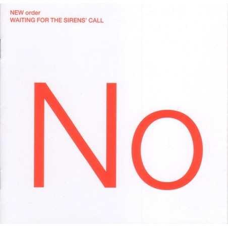 NEW ORDER - Waiting For The Sirens' Call CD