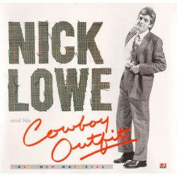 NICK LOWE - And His Cowboy Outfit LP (Original)